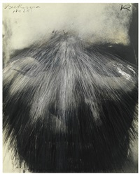 totenmaske (beethoven) (death mask [beethoven]) by arnulf rainer